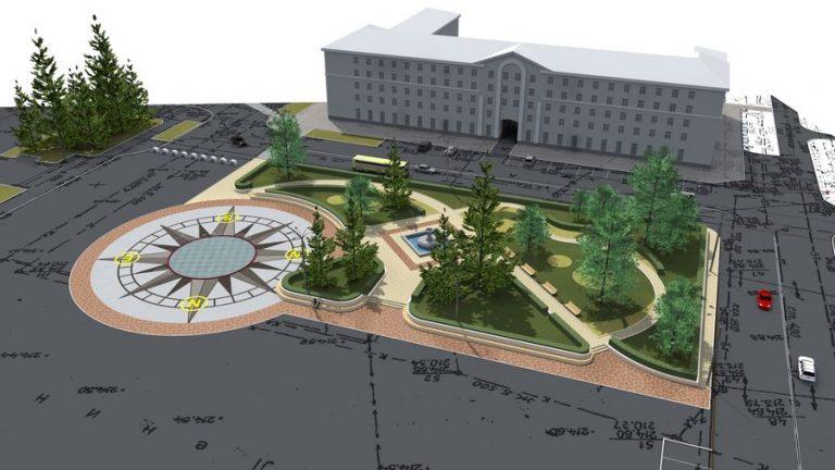 Проект планировки площадей