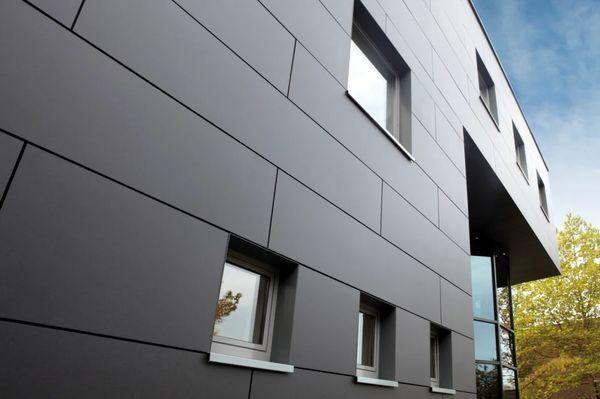 Стены с отделкой фиброцементным сайдингом
