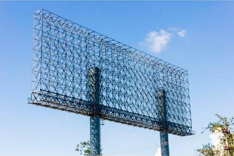 Металлическая ферма для билборда