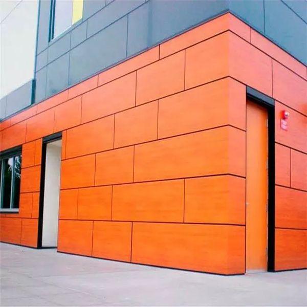 Фасад из hpl панелей