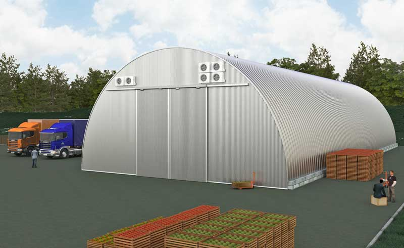 проект быстровозводимого овощехранилища