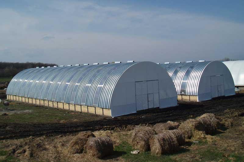 Готовые овощехранилища из легких металлоконструкций