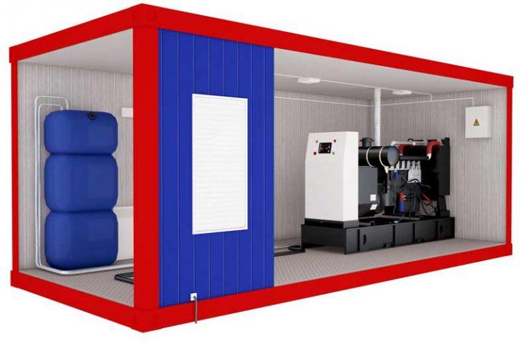 Блок контейнер для оборудования насосной станции