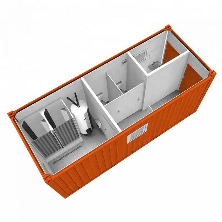 блок-контейнер с душем и санузлом