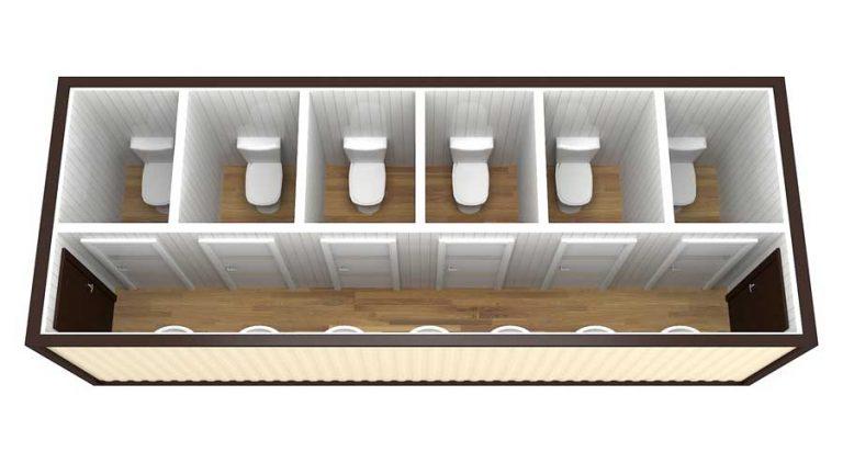 Санитарный блок контейнер