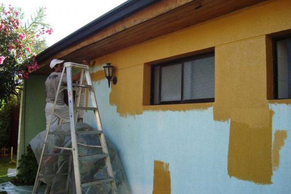 фото пример как сделать фасад дома своими руками
