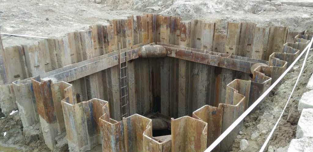 укрепление стен тоннеля