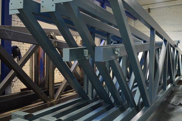 Металлические фермы для элементов конструкци